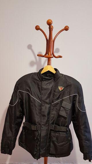 chaqueta moto mujer talla L