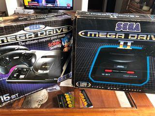 Sega mega drive 1 y 2