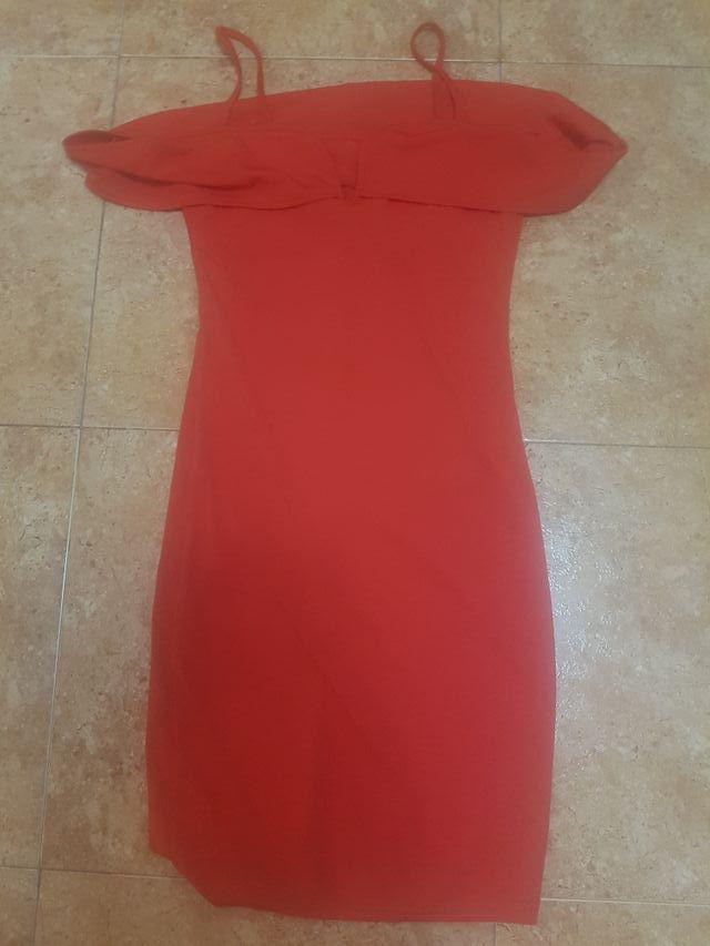 Vestido ajustado en Rojo