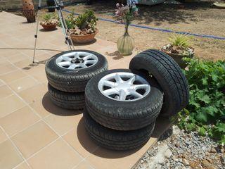 5 ruedas
