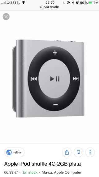 Ipod Shuffle Gris Espacial