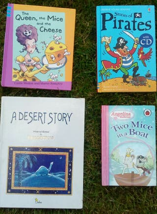 Libros de cuentos en inglés