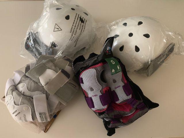 Protecciones skate, roller y patinete