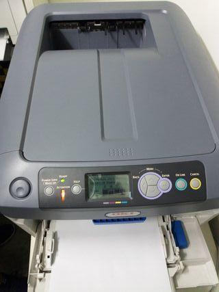 Impresora Laser Color OKI C711wt
