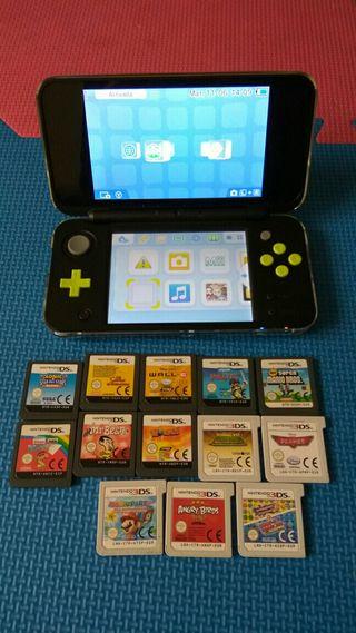 Nintendo 2ds xl con garantía y factura de compra