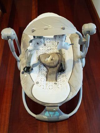 Hamaca-columpio bebé ingenuity