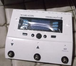 Pedal TC-Helicon VoiceLive Play GTX