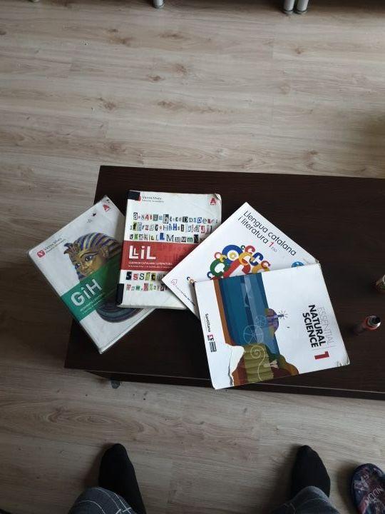libros primero de la ESO