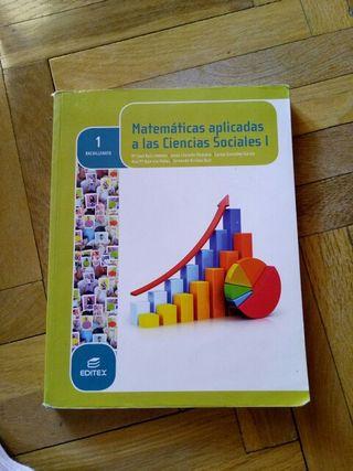 Matemáticas a las Ciencias Sociales I