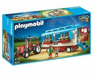 Playmobil nuevo sin abrir tractor remolque circo