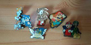 6 Pines videojuegos Sonic y Super Mario