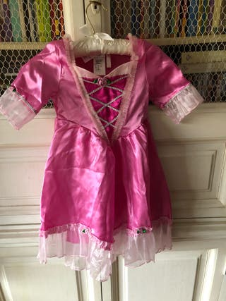 Disfraz rosa de princesa
