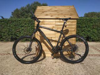bicicleta Trek aluminio.