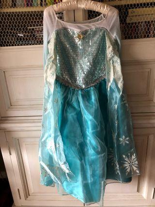 Disfraz niña original Disney de Elsa