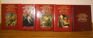 GRAN HISTORIA DE LA MÚSICA, Ed. Planeta