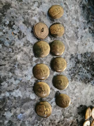 botones antiguos de Lucas Sáez madrid