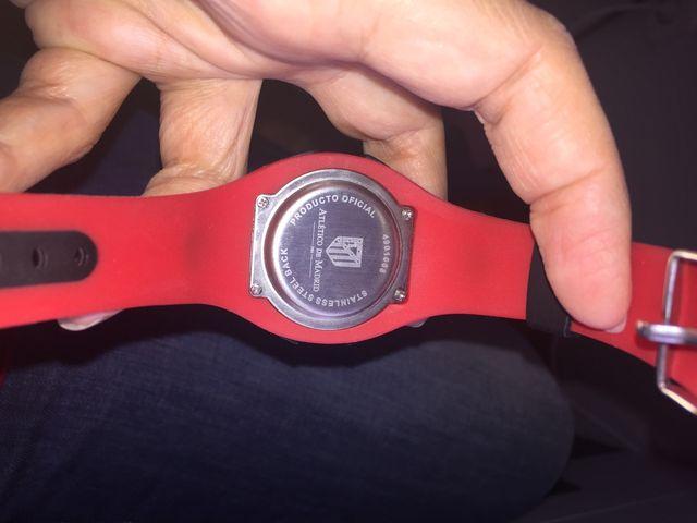 Reloj digital Atlético de Madrid