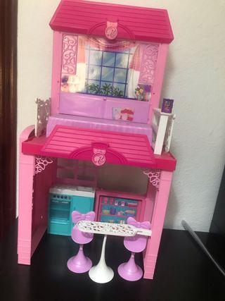 Casa de muñecas de Barbie