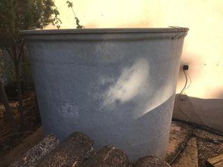 deposito de agua potable