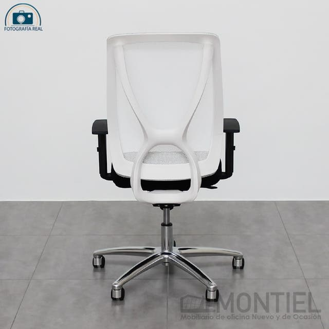 SILLA ESCRITORIO OFICINA BIG PLUS BLANCA
