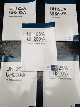 manual propietario Suzuki Burgman 125/200