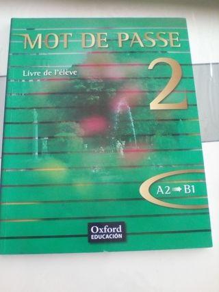 libro francés segundo bachillerato