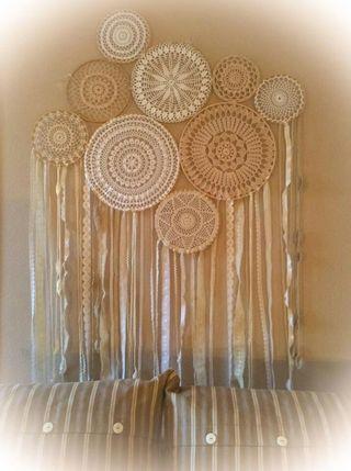 Exclusivo Atrapasueños Mandala Crochet