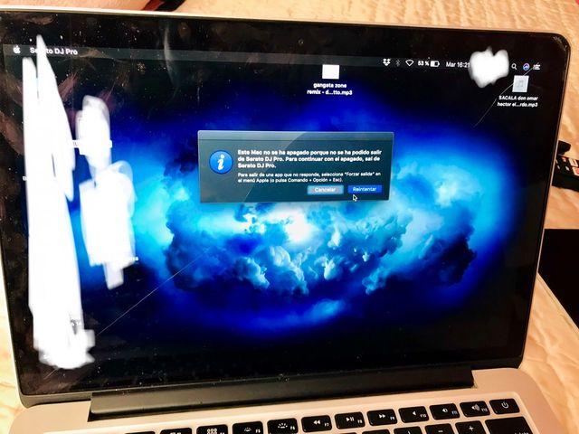 Pantalla de MacBook Pro 13 retina del 2015