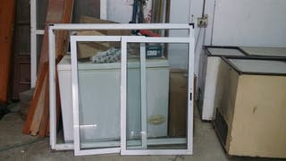 ventana aluminio lacado