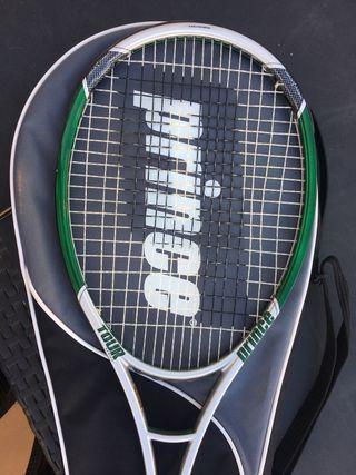 Raqueta de tenis prince como nueva