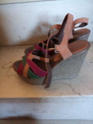 sandalias nuevas