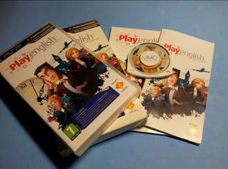 Psp - Play English (ed. coleccionista)