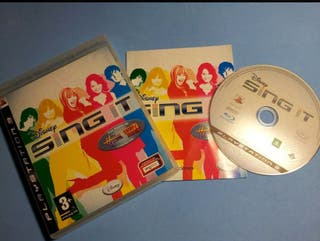Ps3 - Sing It Disney