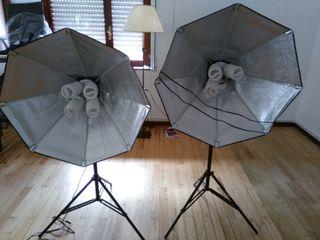 Kit iluminación estudio fotografico