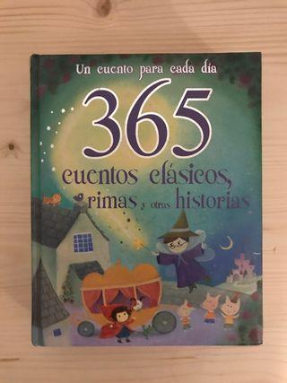 Libro 365 cuentos, rimas...