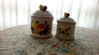 especieros de ceramica rusticos