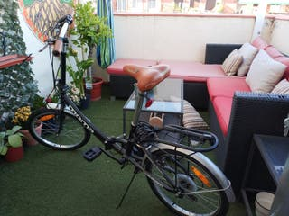 Bicicleta plegable Shimano