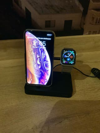 Base de carga Belkin para iPhone y Watch
