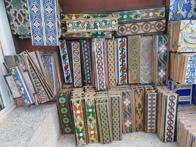 Azulejos antiguos de segunda mano en San Juan de ...