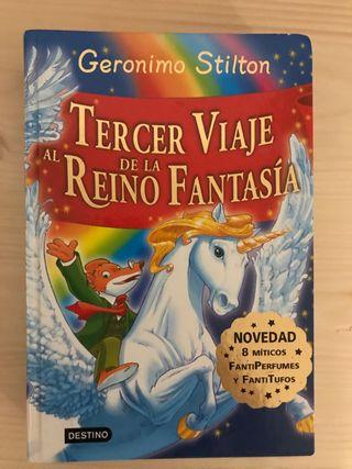 Libro GERONIMO STILTON (con 8 olores diferentes)