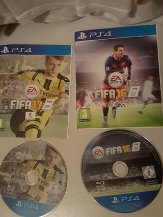Lote Fifa 17,16,15 ps4