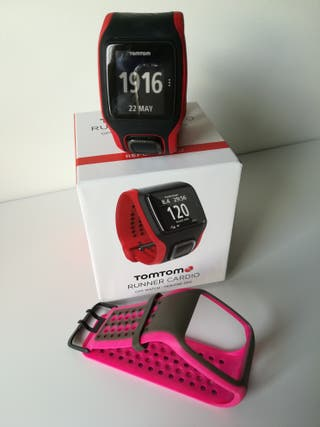 Reloj pulsometro integrado Tom Tom Runner 2