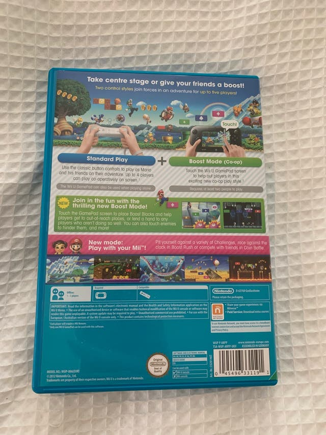 Super Mario Bros U- Wii U