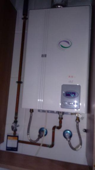 calentador solo para agua caliente de gas natural
