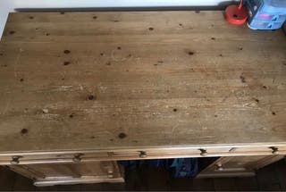 Grand bureau en bois
