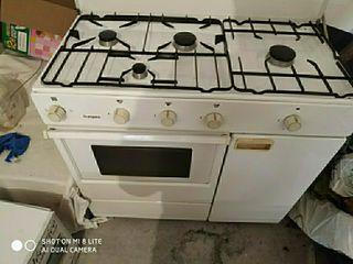 cocina de gas natural con horno