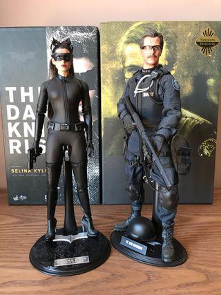 Lote Hot Toys Catwoman + Jim Gordon