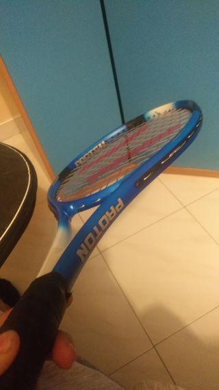 raqueta de tenis mas funda
