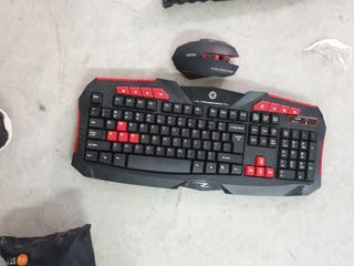 teclado t ratón inalámbrico