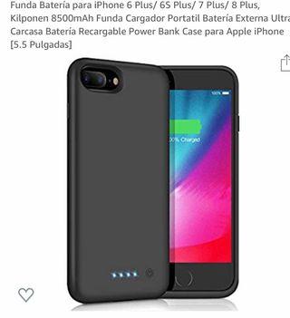 Funda batería iphone 7 plus